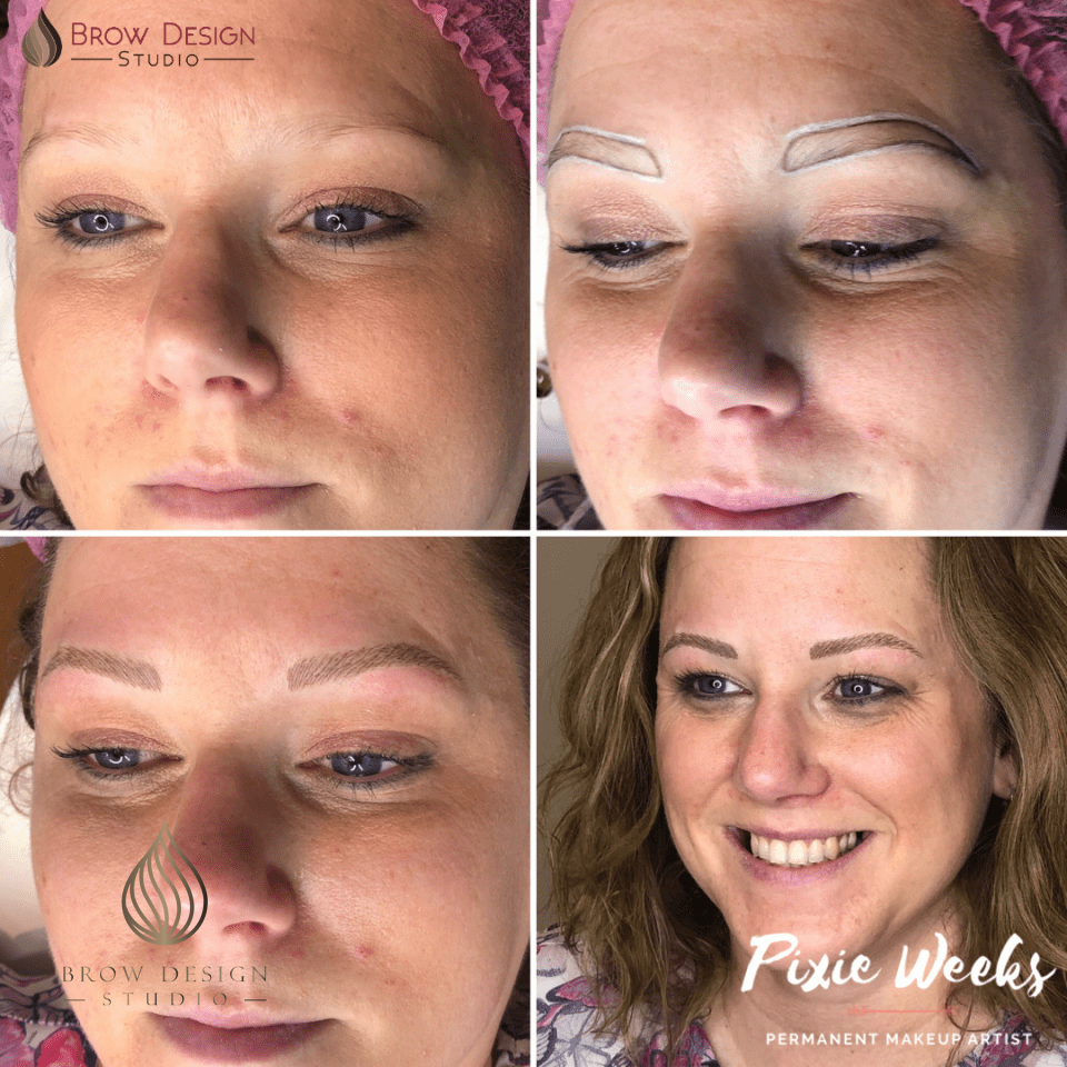 Hairstroke only brows (Undetectable Wow Brow)
